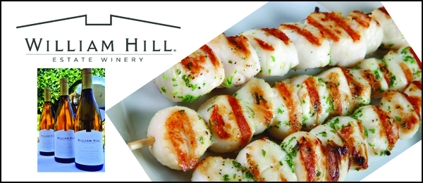Scallop Skewers With Herb Oil Recipes — Dishmaps